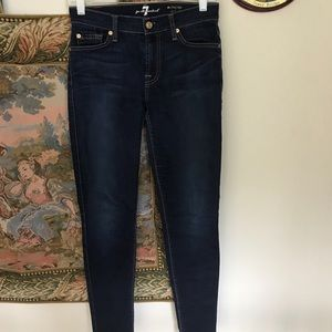 """7 For All Mankind """"Midrise"""" Skinny Jeans"""